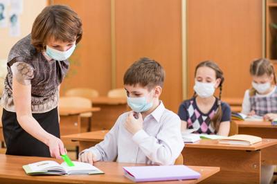 грипп в школе